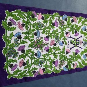 BALMORAL Linen Irish Tea Towel VA Crest